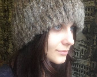 b22d610ffcf Women s rabbit fur hat