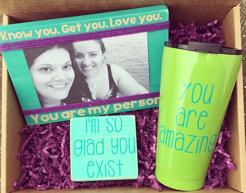 You Are My Person Best Friend Gift Birthday Box