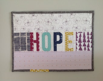 Hope Wall Quilt