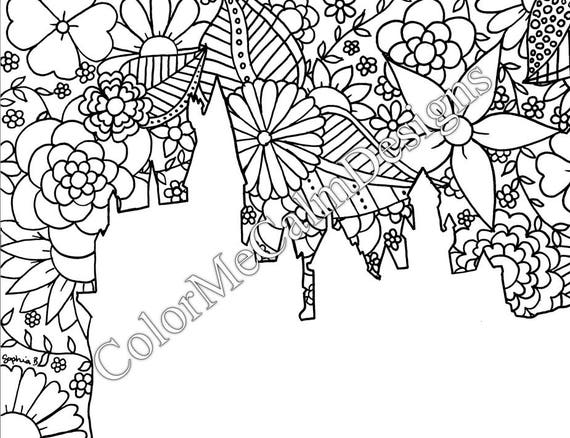 Skyline Coloring Pages | Cars coloring pages, Coloring pages, Color | 438x570