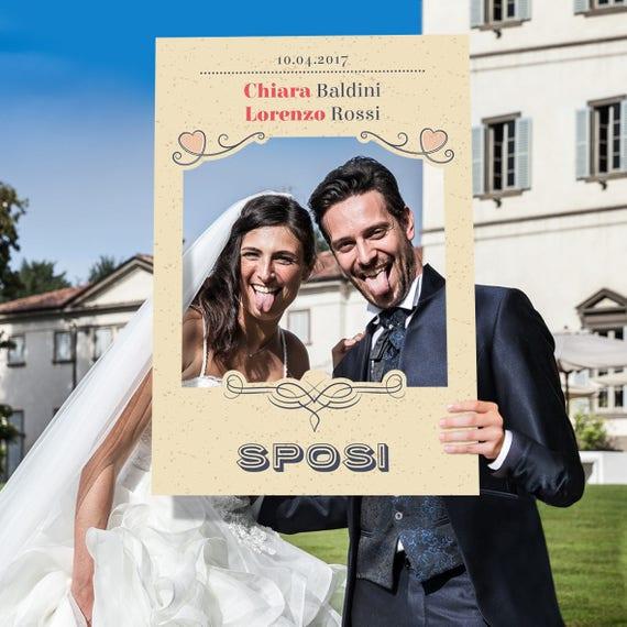 Cornici Photo Booth.Cornice Photo Booth Matrimonio Vintage