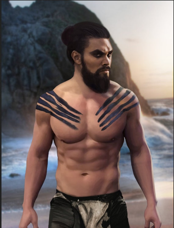 Jason Momoa Ultra Soft Plush Fleece Blanket