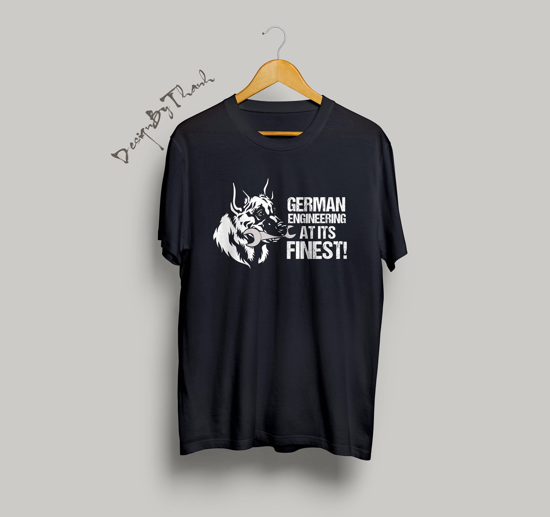 Chemise de allemand berger allemand - berger allemand de cadeaux chemise  ingénieur et chien - berger 492e37ff805a