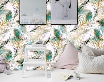 Peacock Wallpaper Etsy