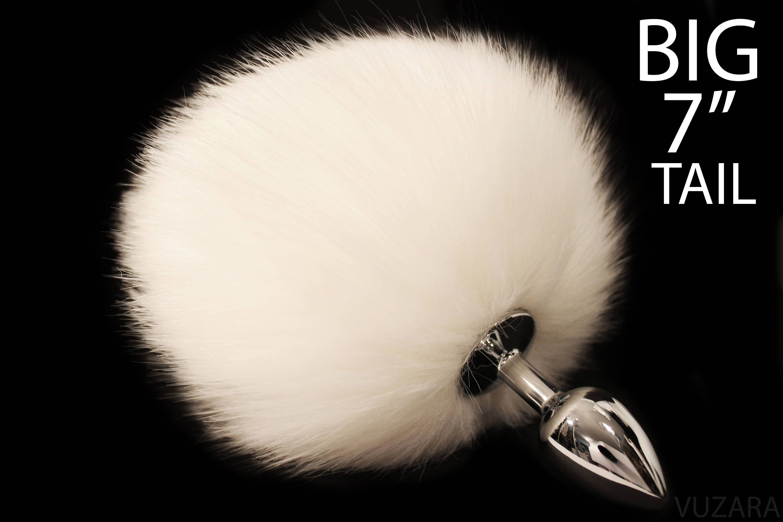3f6a16549 Bunny tail butt plug bdsm butt plug dildo tail plug fox tail
