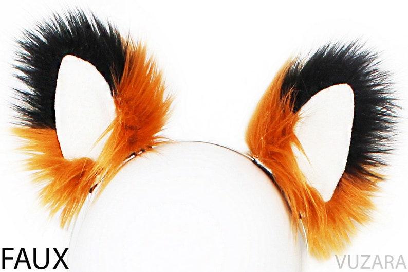 fox ears cat ears kitty ears kitten ears white cat ears headband ears faux ears wolf ears neko ears cosplay ears fox costume cat costume