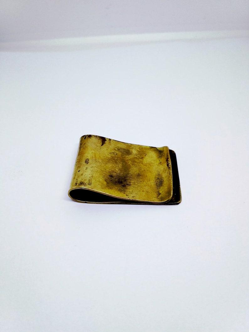 Brass  Money Steampunk Money Clip Gothic  Vintage Inspired Antiqued Brass Men/'s Accessories Men/'s Gifts