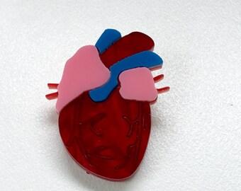 Be Still My Beating Heart Brooch