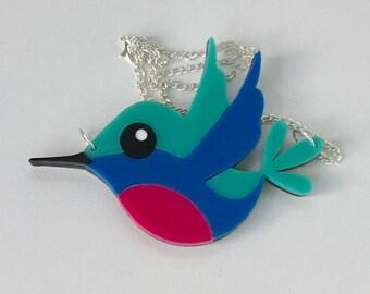 Harriet the Hummingbird Necklace