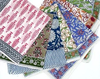 Bandana, Face Covering, Block Printed Bandana, Indian Cotton Bandanas, Face Mask, Hand Block Printed Cotton Bandana and Headband