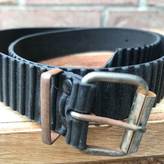 PVC Belt -  Black - Industrial - Rubber Belt - Vin