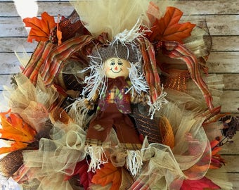 Fall Wreath, Home Decor, Thanksgiving Wreath, Outdoor Decoration, Thanksgiving Decor, Fall Decor