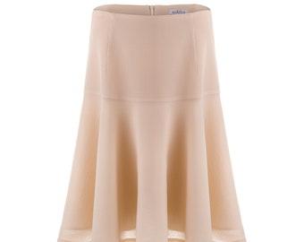 3494ee81b372 Regina wool-crepe drop-waist skirt