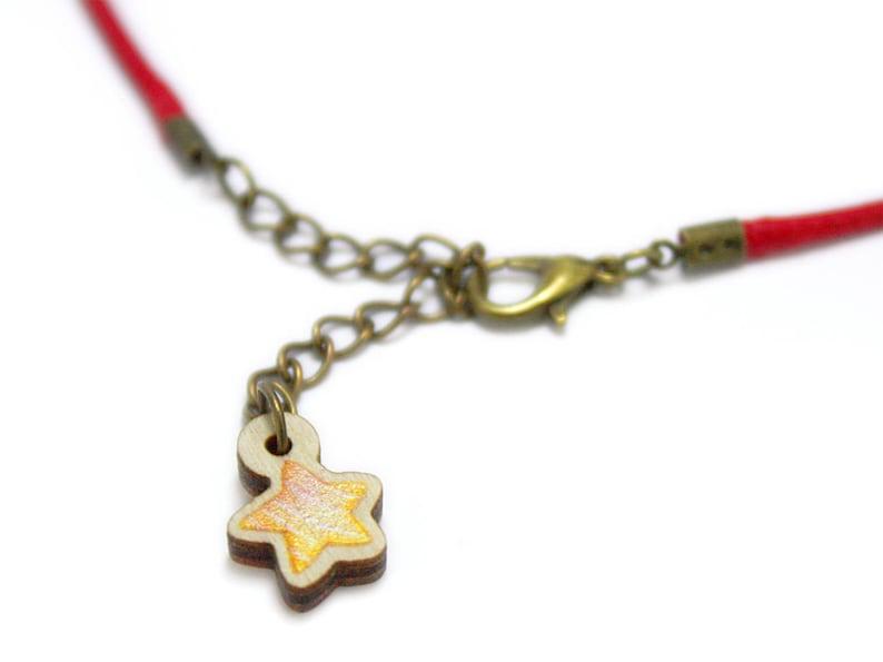 Kids Jewellery Necklace WOODEN ***SIR APPLE***