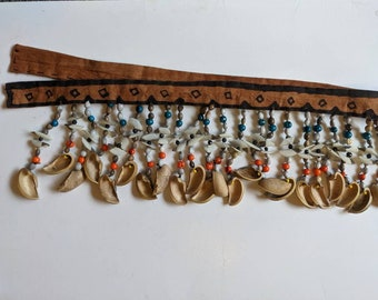 AUTHENTIC SHAMANIC TRIBAL belt or necklace  Ashaninka accesorie.