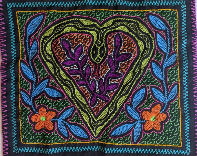 CORAZON de RONIN heart of the Cosmic Anaconda  Authentic SHIPIBO tapestry cloth