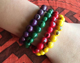 ACAI seeds for Fertility , Good Luck, Fortune and ABUNDANCE  Bracelets