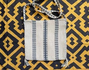 Medicine HEMP shoulder HANDBAG flea market shopping bag  ecofriendly handmade with  CHAMBIRA fibers hippie boho style