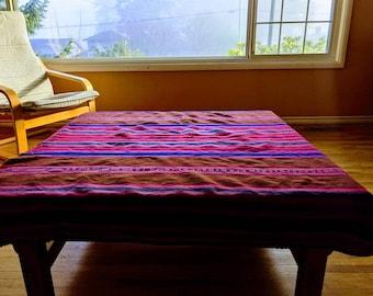 LARGE ANDEAN CLOTH Inka inspired original handmade by loom Cuzco tribal shamanic tapestry