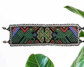 BEADED SHIPIBO  Bracelet  Kene
