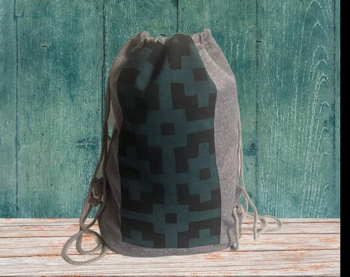 YOGA SAC SHIPIBO canvas  Backpack  shamanic bag