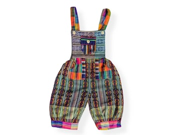 UNISEX Toddler ETHNIC OVERALL Romper 3T to 4T