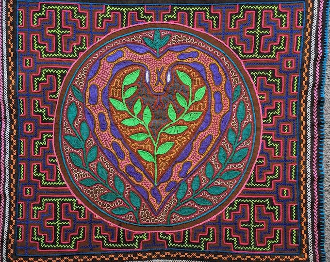 CORAZON de RONIN heart of the Cosmic Anaconda  Authentic SHIPIBO tapestry cloth