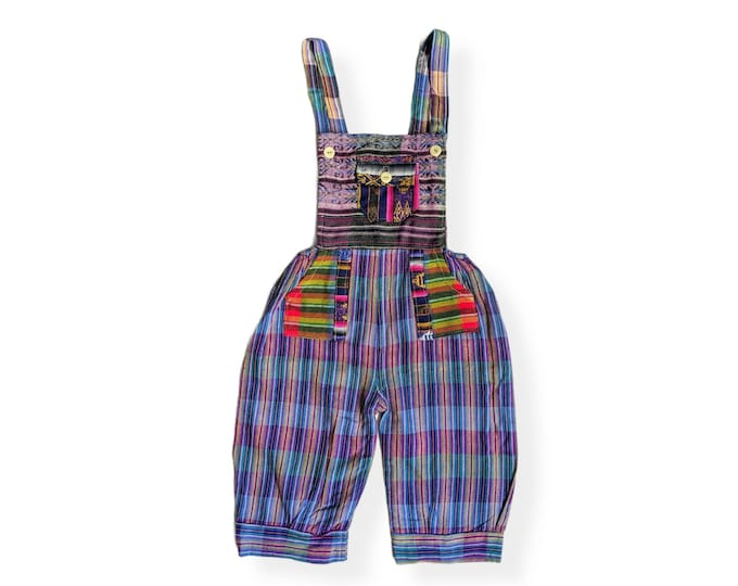 UNISEX Toddler ETHNIC OVERALL Romper 4T to 5T