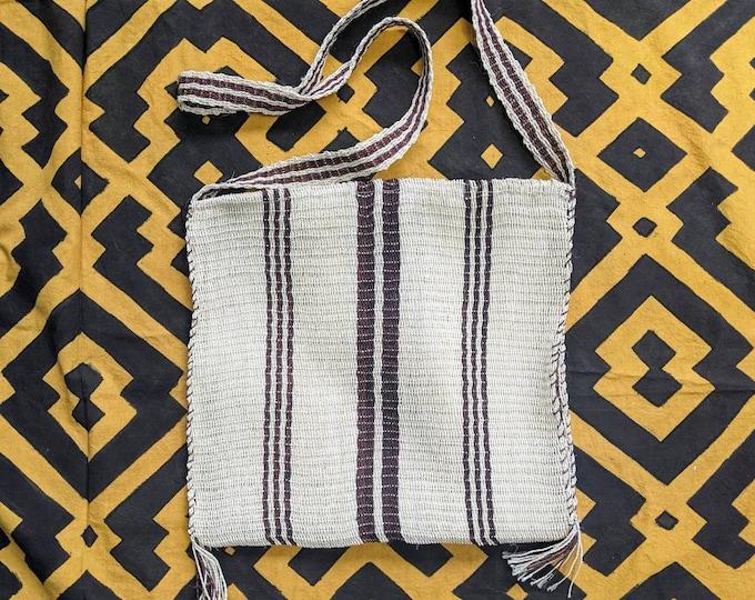 Medicine HEMP shoulder HANDBAG flea market shopping bag  ecofriendly handmade with  CHAMBIRA fibers boho hippie style