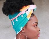 Head Wraps - Head wraps for women - African head wrap - Stretch Head Wrap - African Clothing.