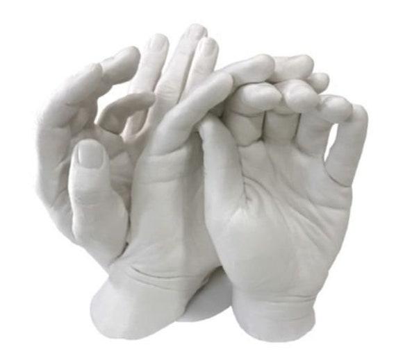Keepsake Hands Casting Kit For Couples Wedding Mom Baby Plaster Hand Mold Craft