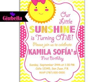 My Sunshine Digital Invitation