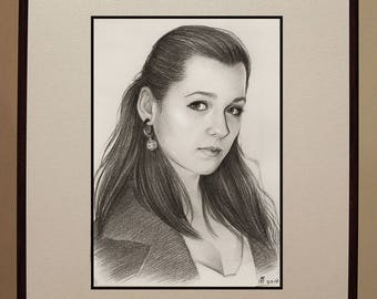 Custom sketch portrait from a photo!