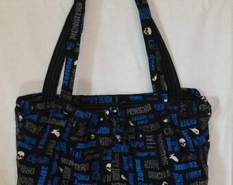 Monster Themed Bag