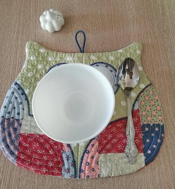 Botanic Blackwork Placemat or Mousemat Kit