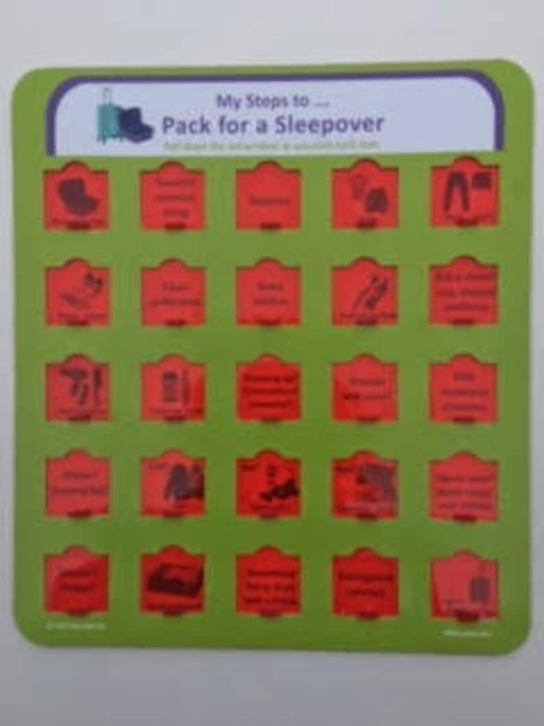 Pack For A Sleepover My Steps To..