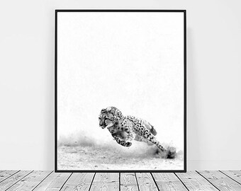 Cheetah Print, Digital Download, Printable Art, Cheetah Art, Animal Print