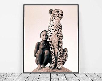 Cheetah Print, Digital Download, Printable Art, Cheetah Art, Animal Print, Cheetah, wall decor
