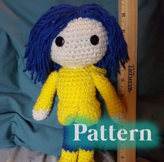 Crochet Coraline Pattern Raincoat Etsy