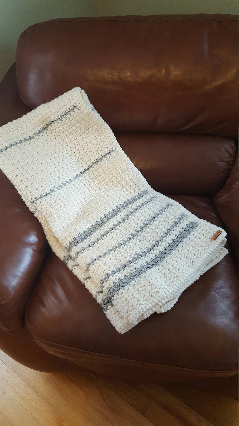 THE SUSAN Heirloom Crochet Afghan Blanket
