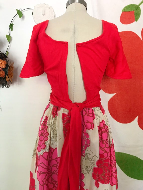 Vintage Alfred Shaheen 60s Maxi Dress - Alfred Sh… - image 9