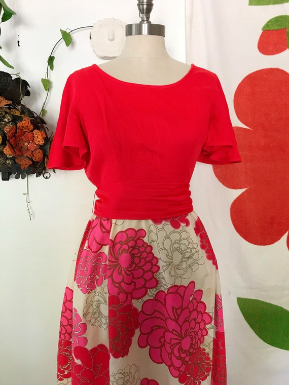Vintage Alfred Shaheen 60s Maxi Dress - Alfred Sh… - image 4