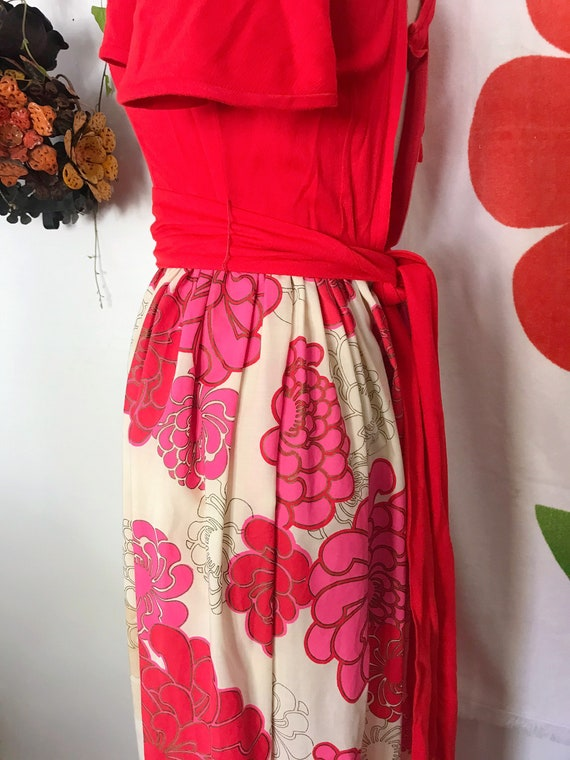 Vintage Alfred Shaheen 60s Maxi Dress - Alfred Sh… - image 8