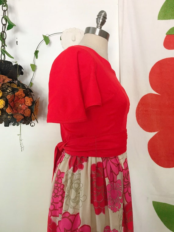 Vintage Alfred Shaheen 60s Maxi Dress - Alfred Sh… - image 6