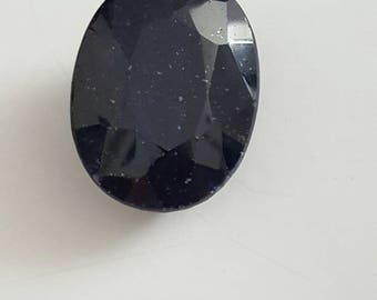365.80 ct deep blue Sapphire