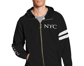NYC Men's All City Hoodie,Brooklyn,Queens,Manhattan,Bronx,Staten Island,NYC Gifts,New York,