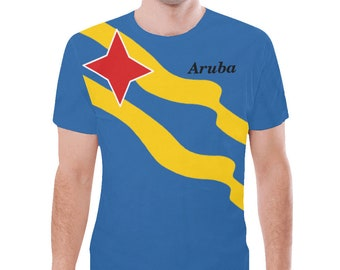 Aruba Men's Custom Flag Hoodie 2.0/Aruban/Aruba Gift/Love Aruba/Caribbean Clothing/Aruba Pride/Aruba souvenir/Guy's/Man's zUv8njzO