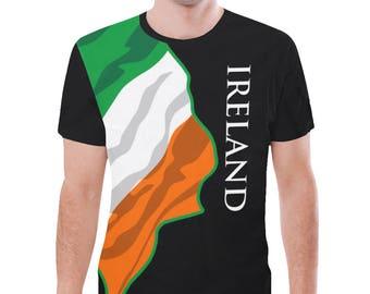Ireland Men's Classic Flag Shirt 2.0 qBu59bnF