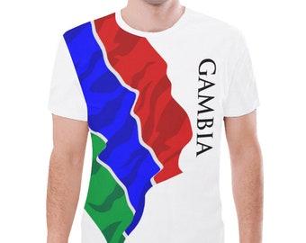 Gambia Men's Classic Flag Tee
