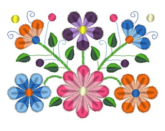 Floral embroidery design,Satin embroidery,embroidery design,Machine embroidery,Wool Embroidery,Flower embroidery,crewel emboidery